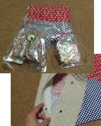 白い小悪魔-ぐっちゃんからのプレゼント
