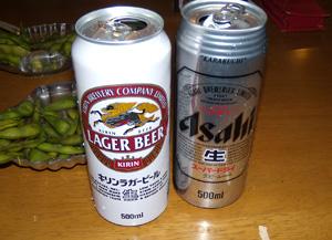 白い小悪魔-ビール